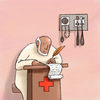 Scribes In The Urgent Care Artwork