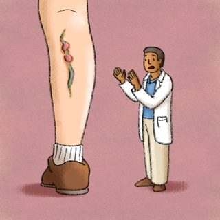 WDIDN: Superficial Thrombophlebitis - Etiology and Management Artwork