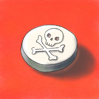 One Pill Can Kill Artwork
