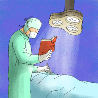 Answering Your Clinical Question with Medical Literature Artwork