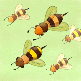 Bee/Hornet Stings (Hymenoptera) Stings Artwork