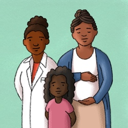 Racial Disparities in COVID-19 Outcomes with Dr. Jasmine Marcelin Artwork